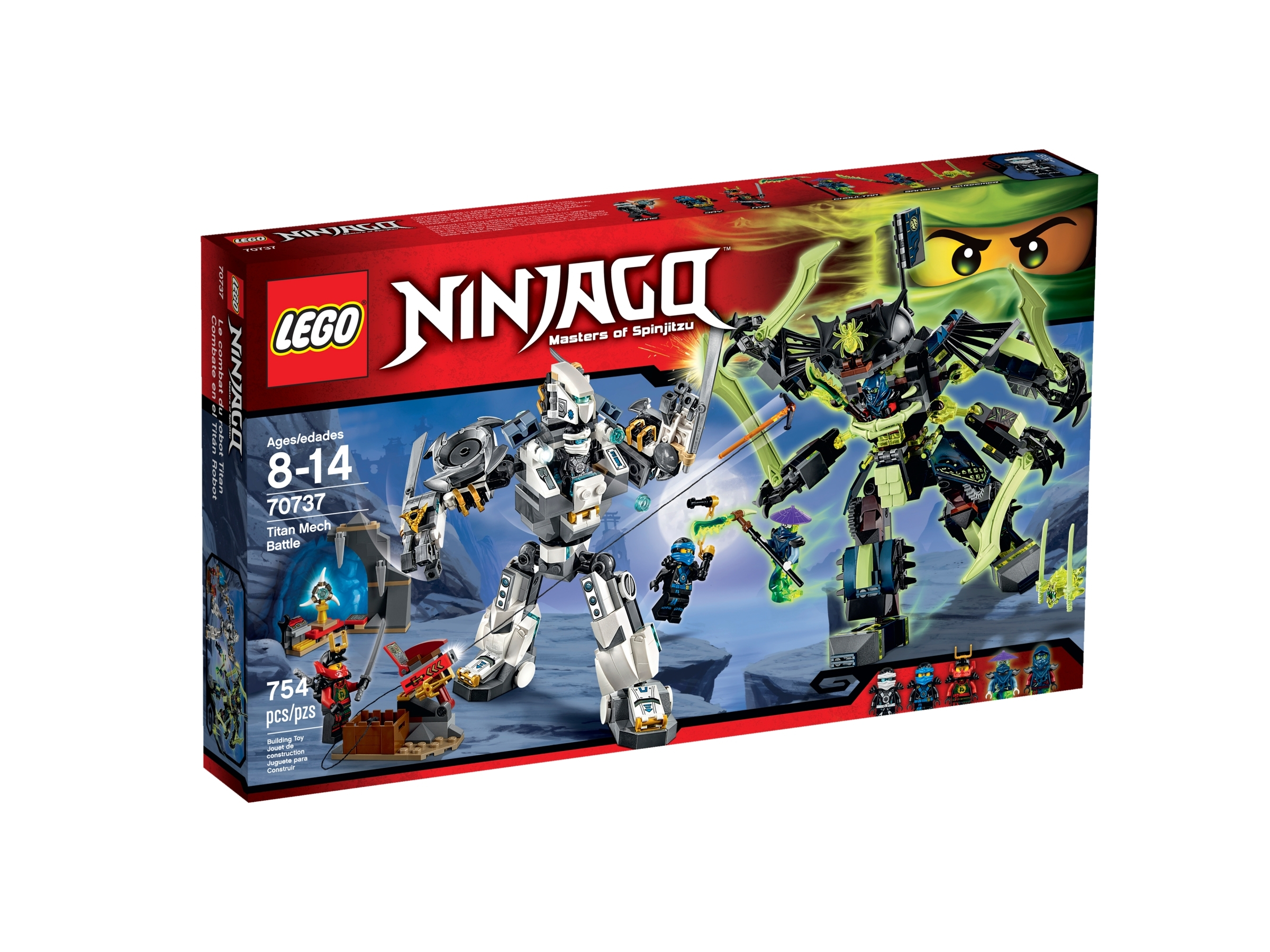 NEW LEGO JAY MINIFIG from Titan Mech Battle 70737 minifigure figure blue ninja