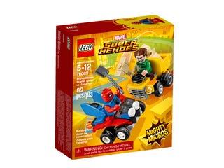 Mighty Micros: Scarlet Spider vs. Sandman