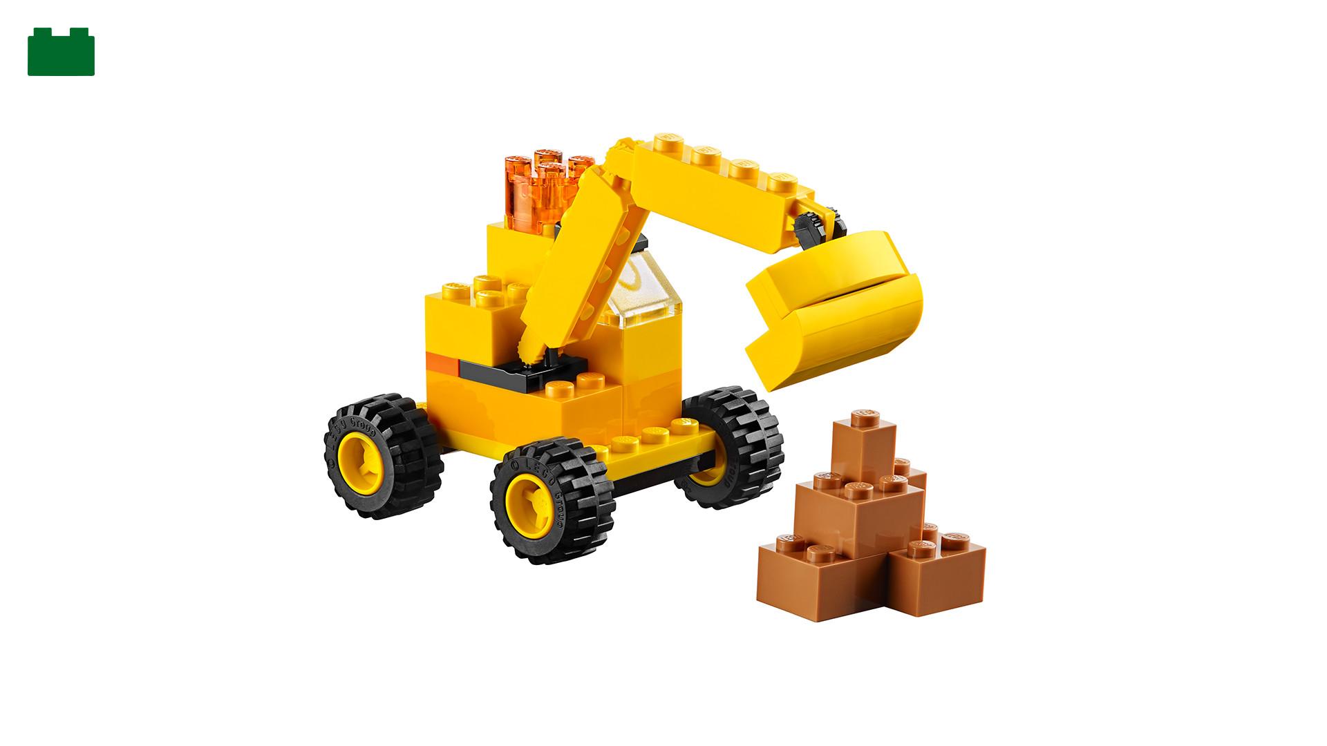10698 LEGO® Large Creative Brick Box - building instructions