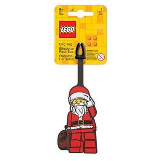 Taskemærke med julemanden