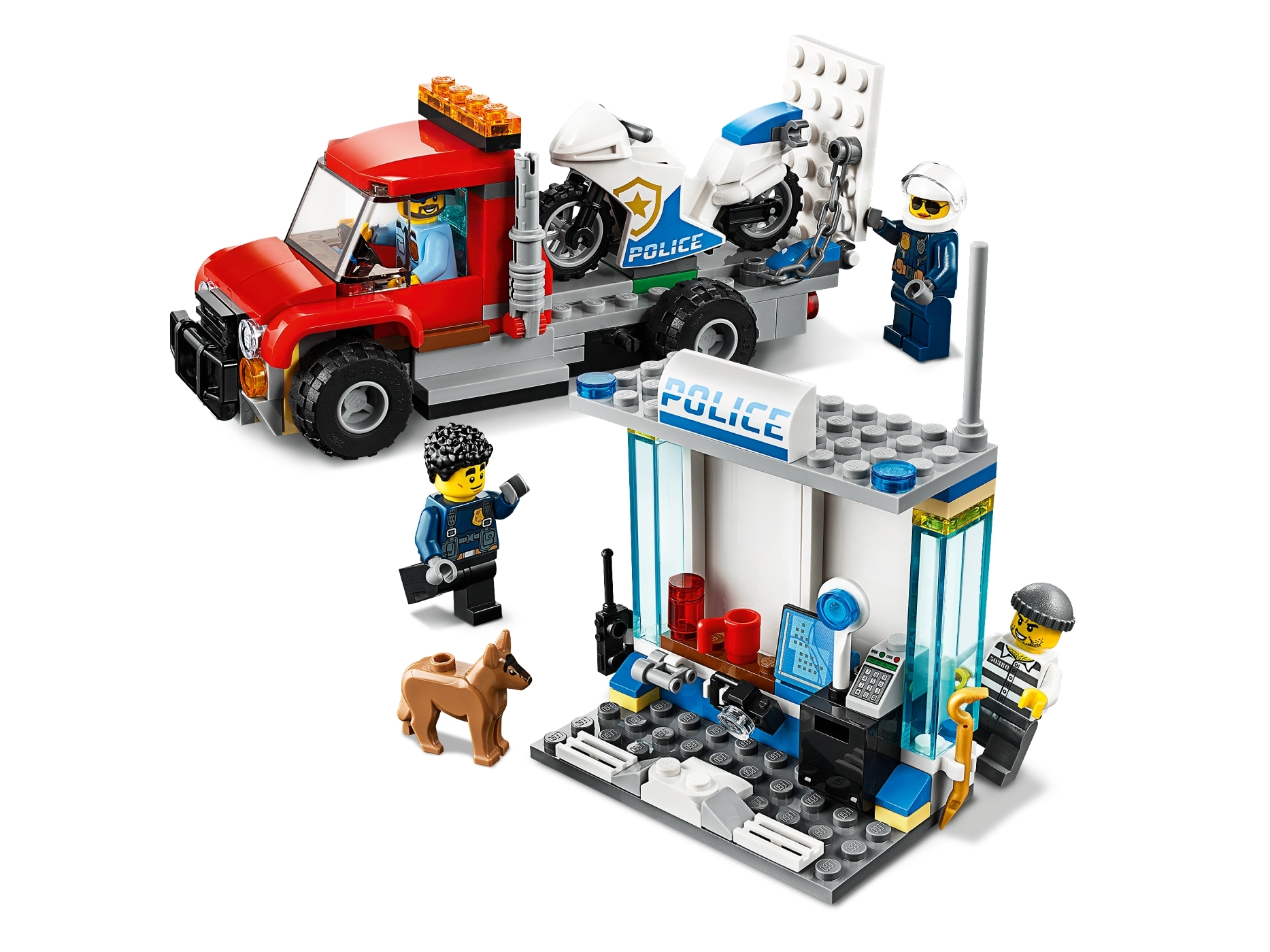 Police Brick Box 60270 City Buy Online At The Official Lego Shop Us