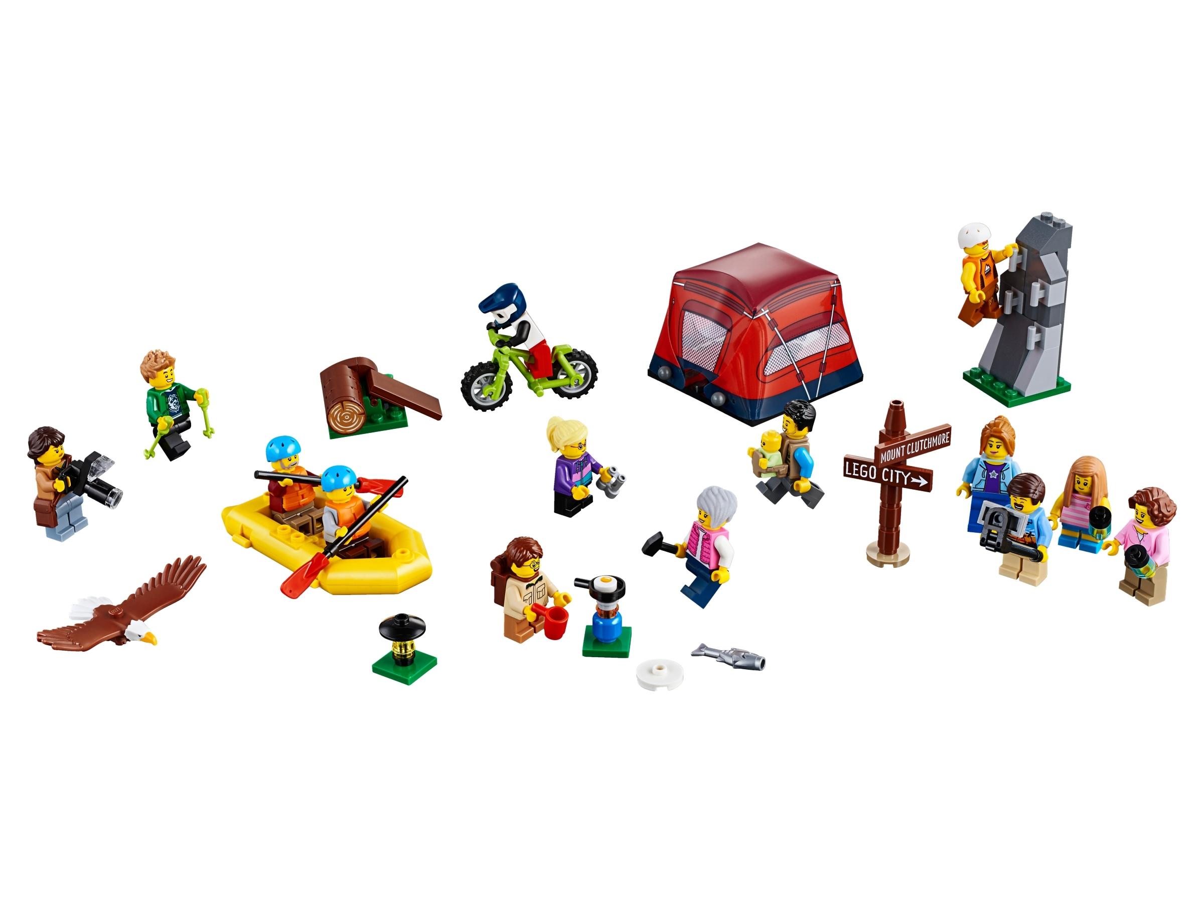 LEGO New Lime Green City Minifigure Camera Accessory Piece