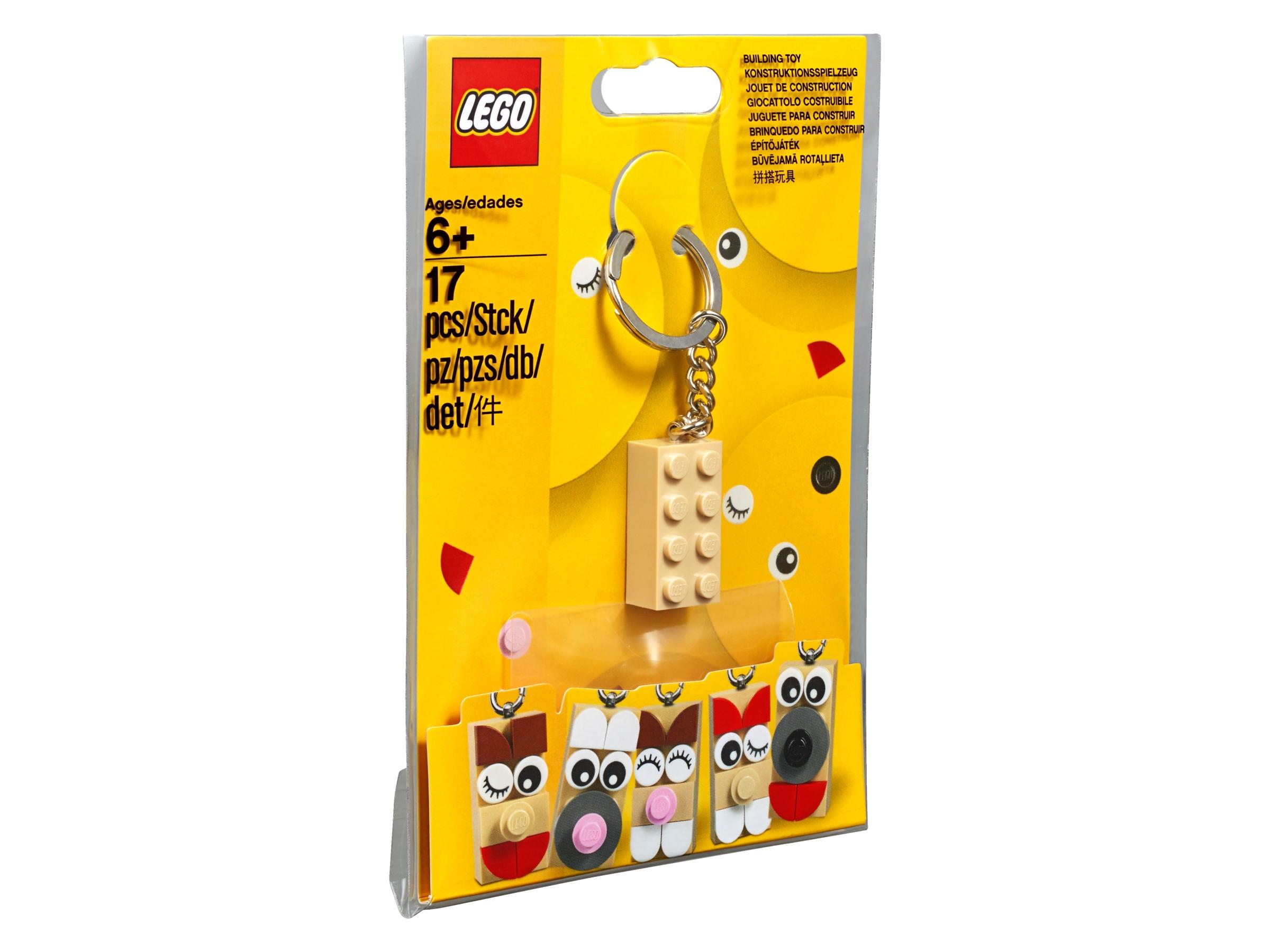Falta Lego Ladrillo Lego Llavero TAG