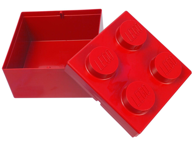LEGO® 2x2 rode opslagsteen