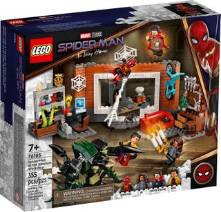 Spider-Man at the Sanctum Workshop