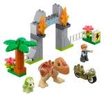 LEGO 10939 Ausbruch des T. rex und Triceratops