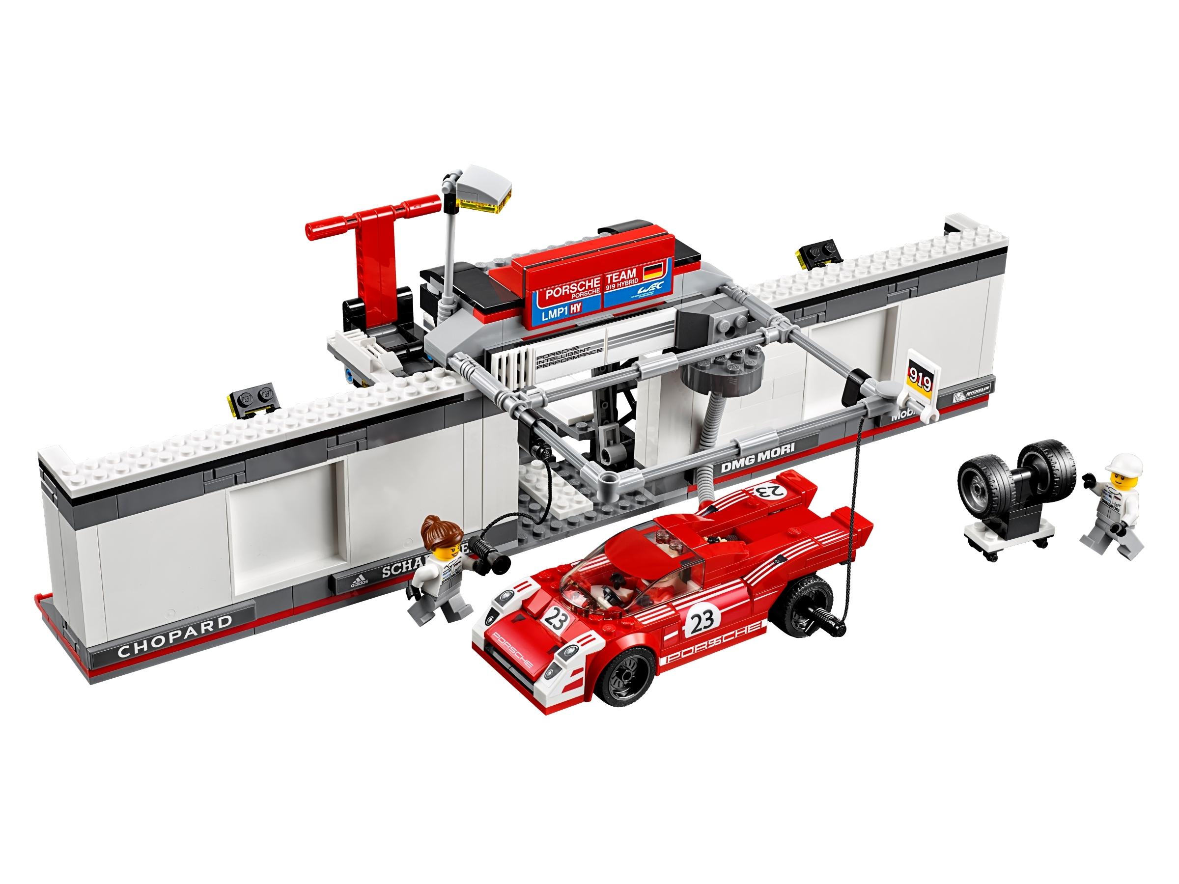 LEGO® Speed Champions 75876 Porsche 919 Hybrid und 917K Pit Lane /& 0.-Versand !