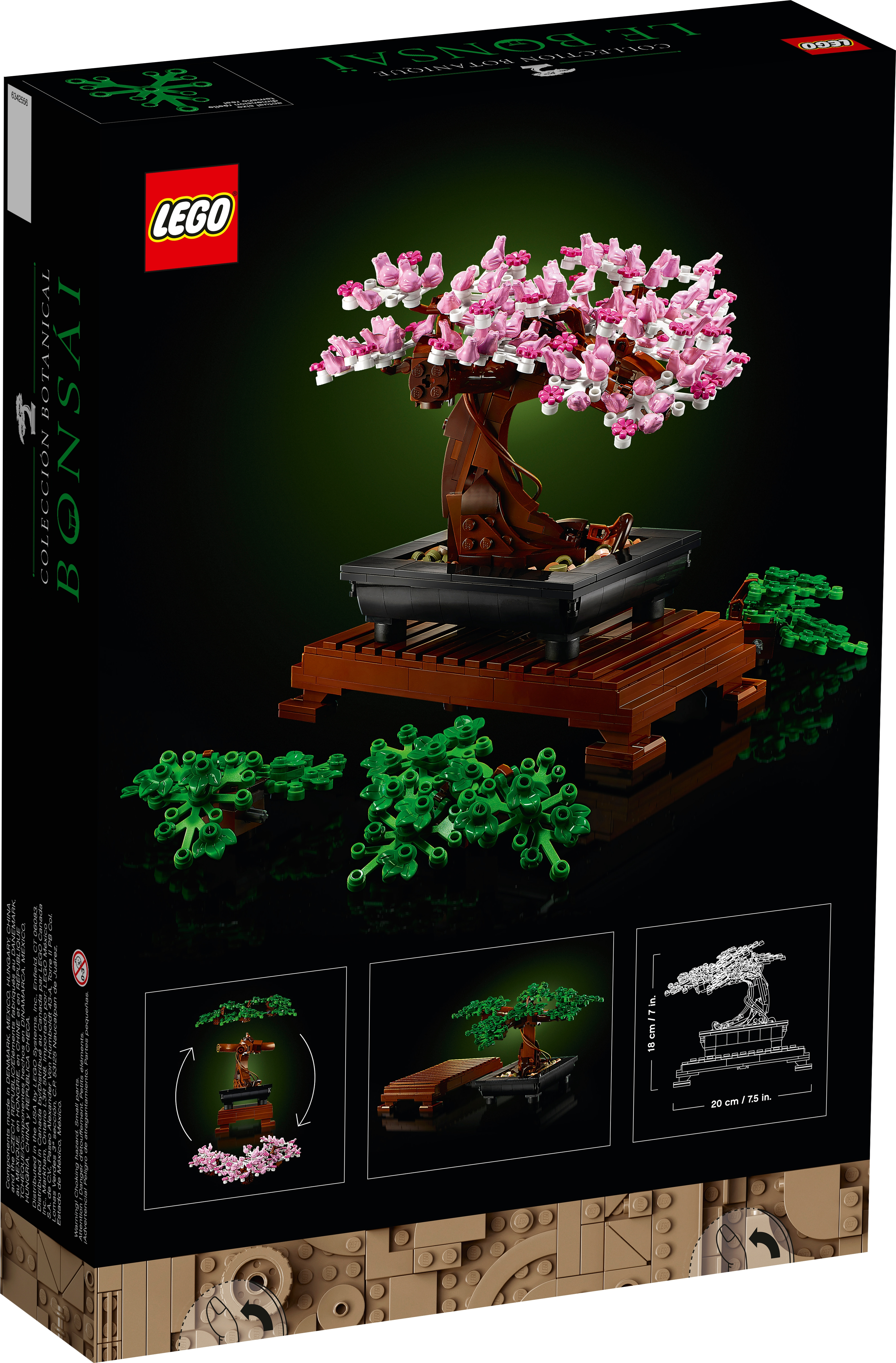 Bonsai Tree 10281 Creator Expert Buy Online At The Official Lego Shop Sg