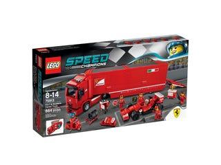 F14 T & Scuderia Ferrari Truck