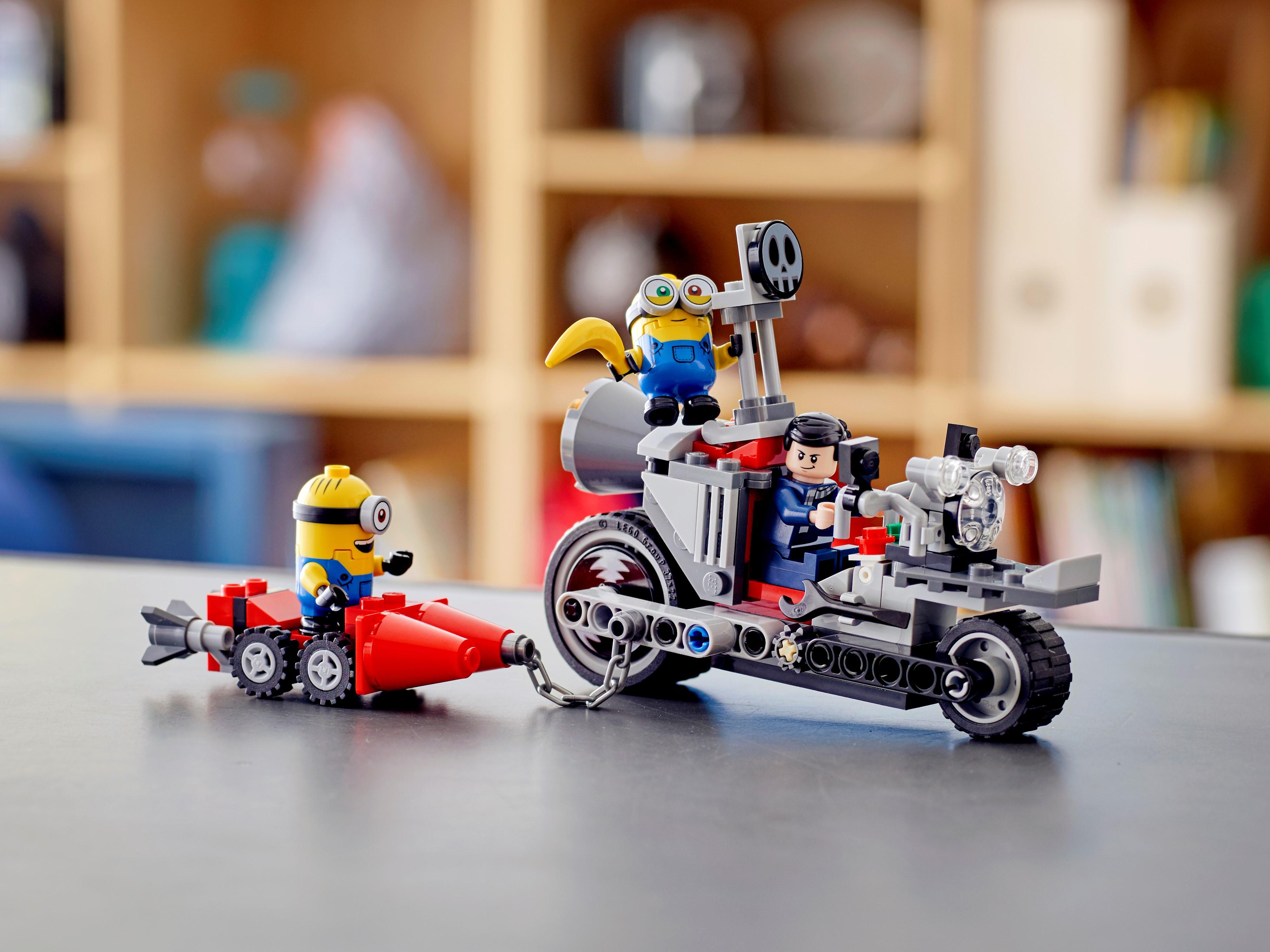 Durdurulamaz Motosiklet Takibi 75549 | Minions | LEGO.com TR