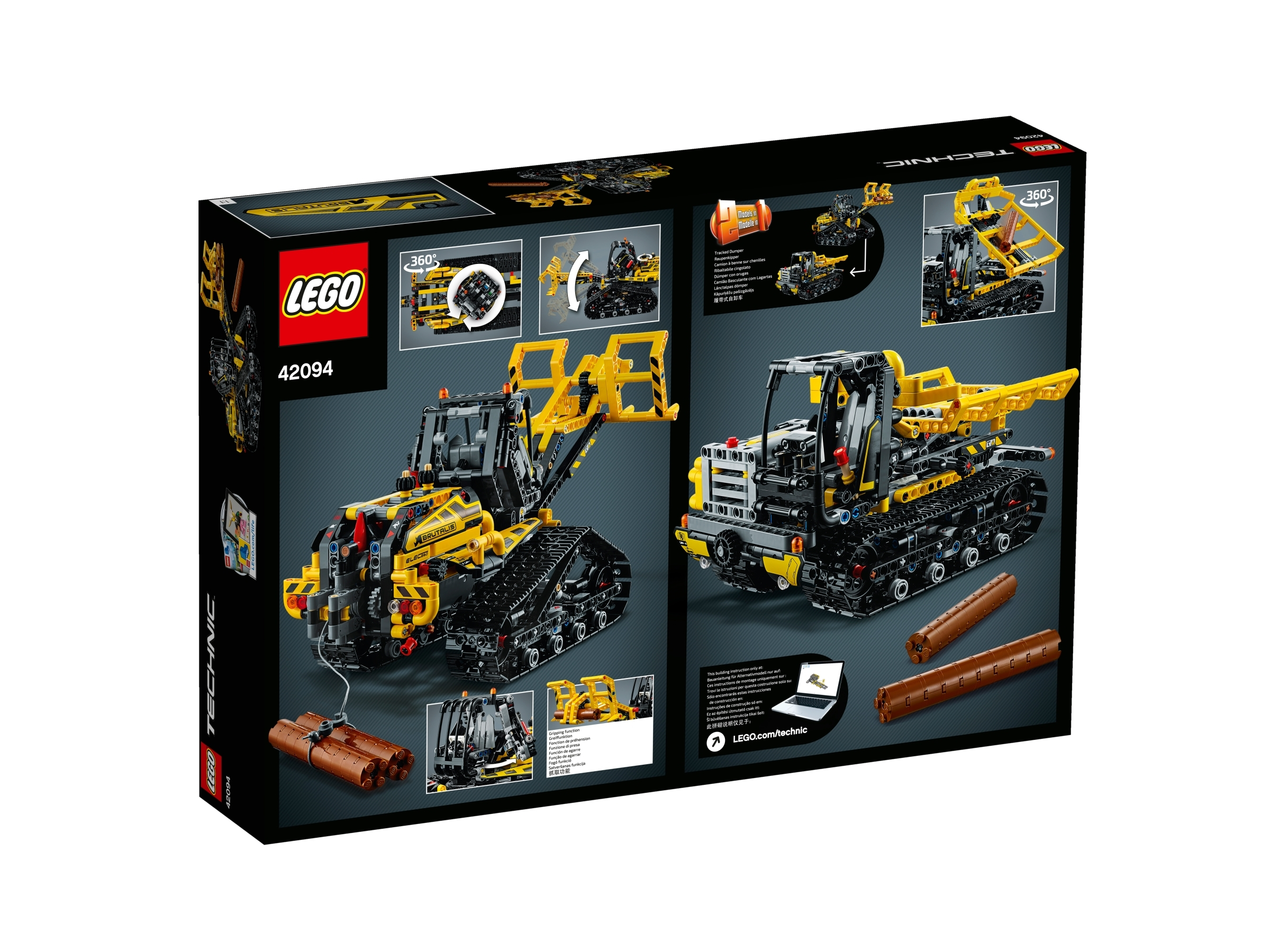Lego Technic Tracked Loader Building Set 42094 NEW