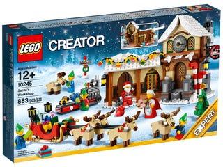 Weihnachtliche Werkstatt
