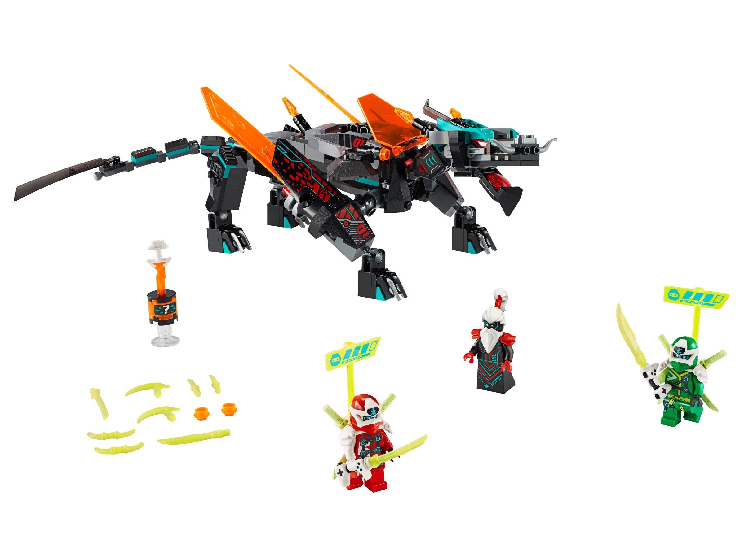 Ninjago LEGO® AI Emperor Unagami Prime Empire Leader Minifig 71712 71713 71711