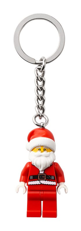 Happy Santa Keyring
