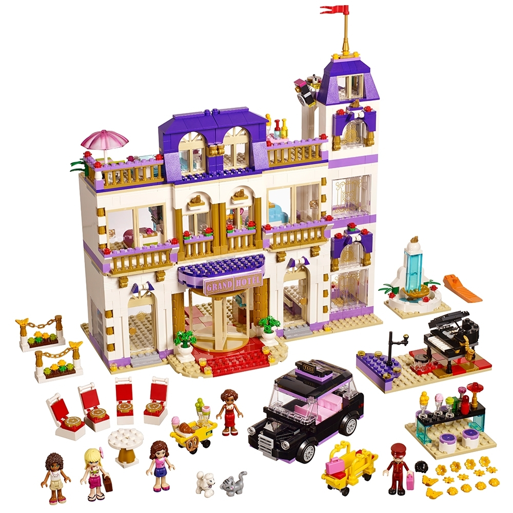 Lego Friends Susan Minifigure Mini doll Split From Grand Hotel 41101