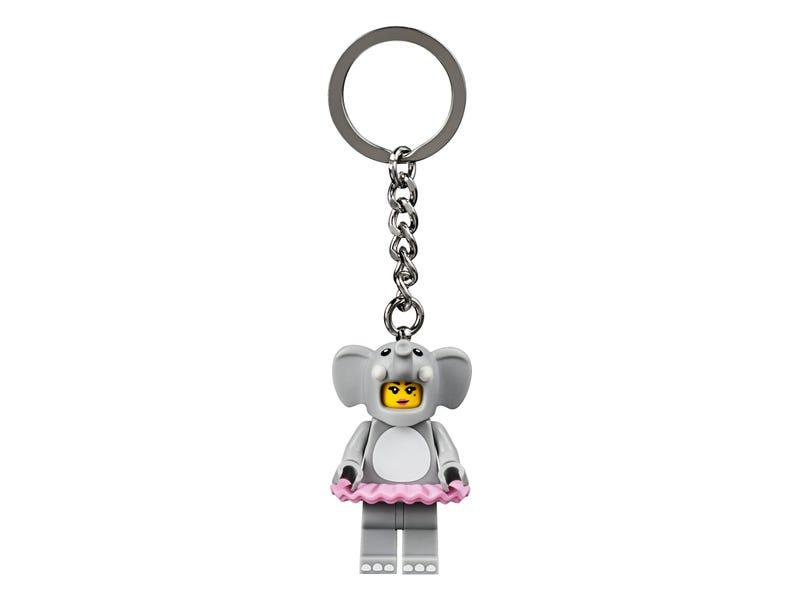 Elephant Girl Key Chain