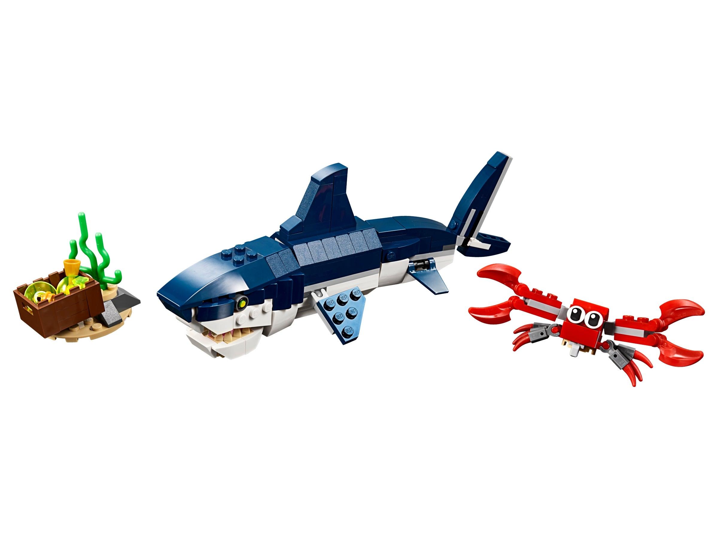 LEGO CREATOR DEEP SEA TOY SHARK CREATURES SET 31088 BRAND NEW BOXED