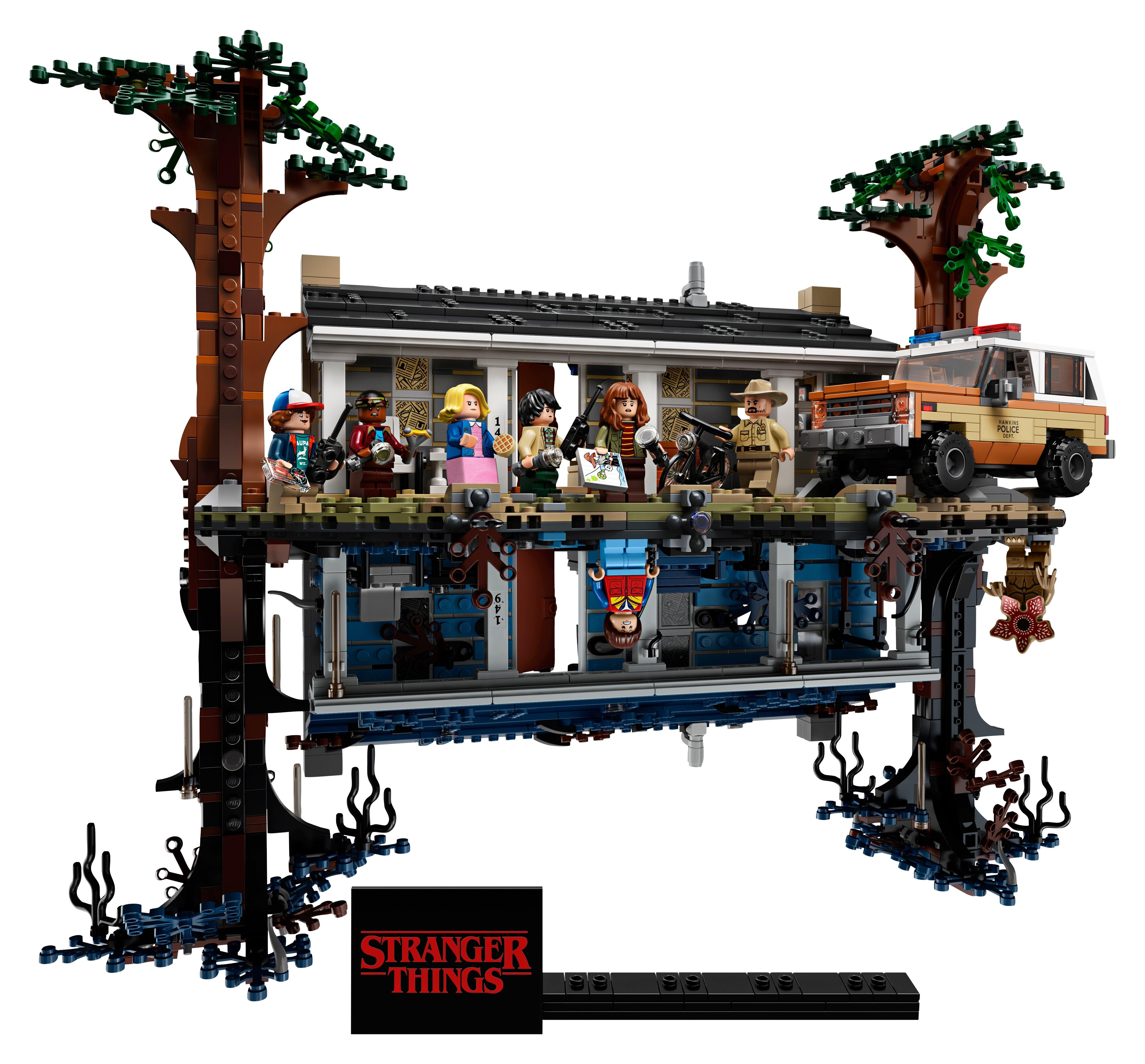8 Pcs Minifigures Custom Movie Strange Things Lego MOC