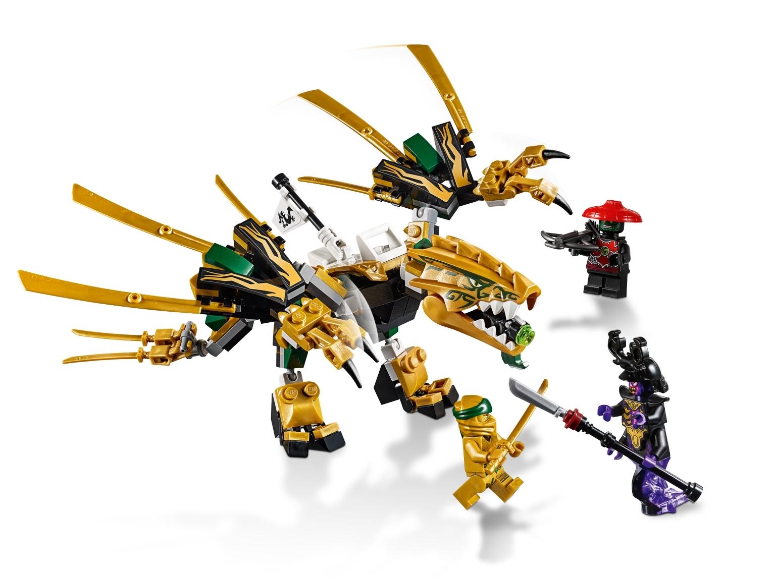 lego ninjago golden dragon sets