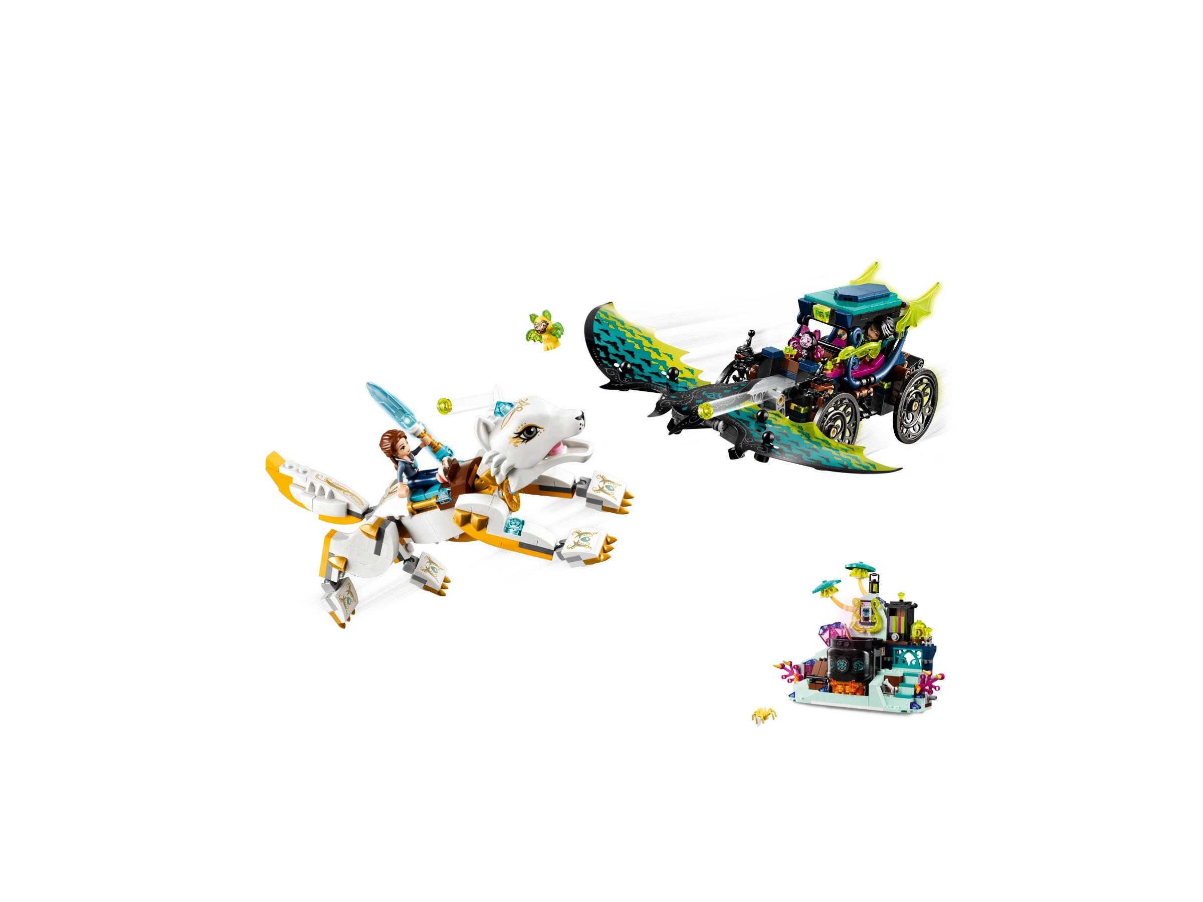 Lego 41195 Set Elves Finale Auseinandersetzung zwischen Emily und Noctura