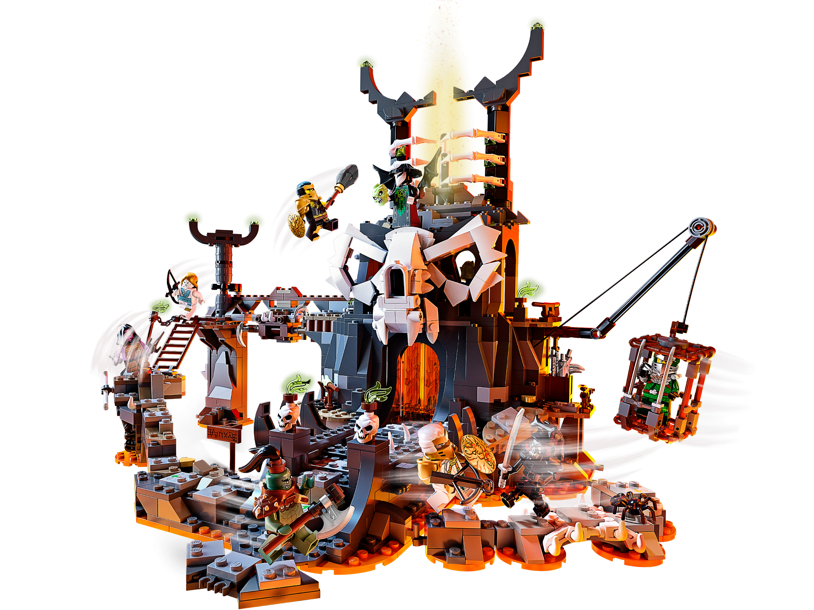 LEGO Ninjago Skull Sorcerer/'s Dungeons 71722 New in Sealed Box 9 years up
