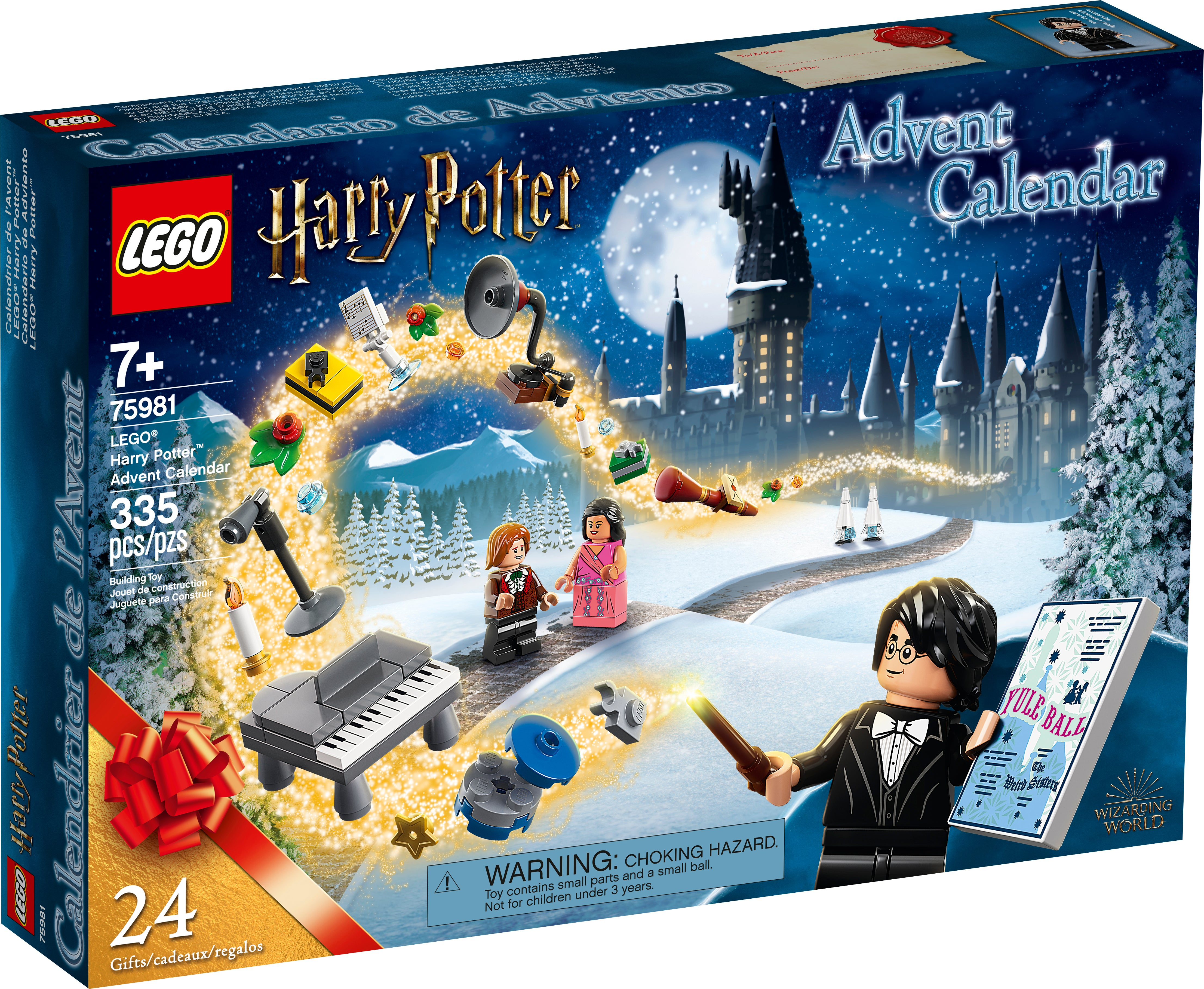 LEGO Harry Potter Advent Calendar 75964 Microbuild x2 Table w// Candle /& Glasses