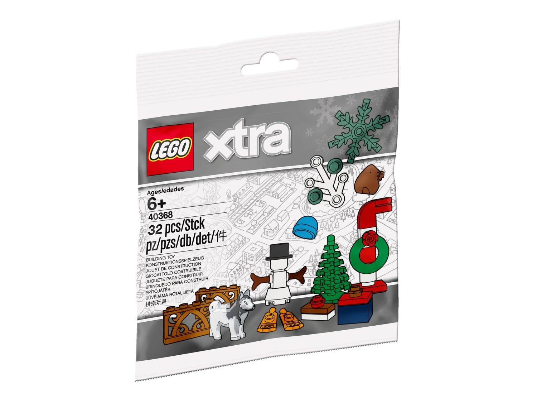 LEGO® kalėdiniai priedai