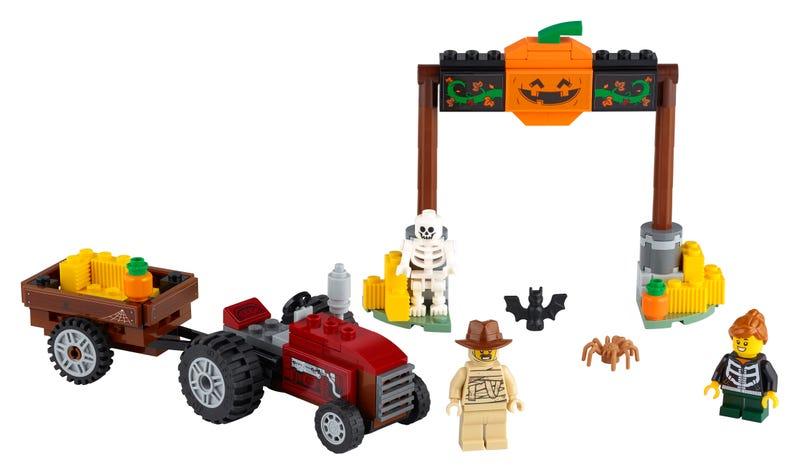 Halloween-Treckerfahrt