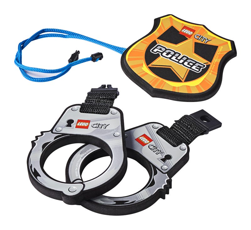 Police Handcuffs & Badge
