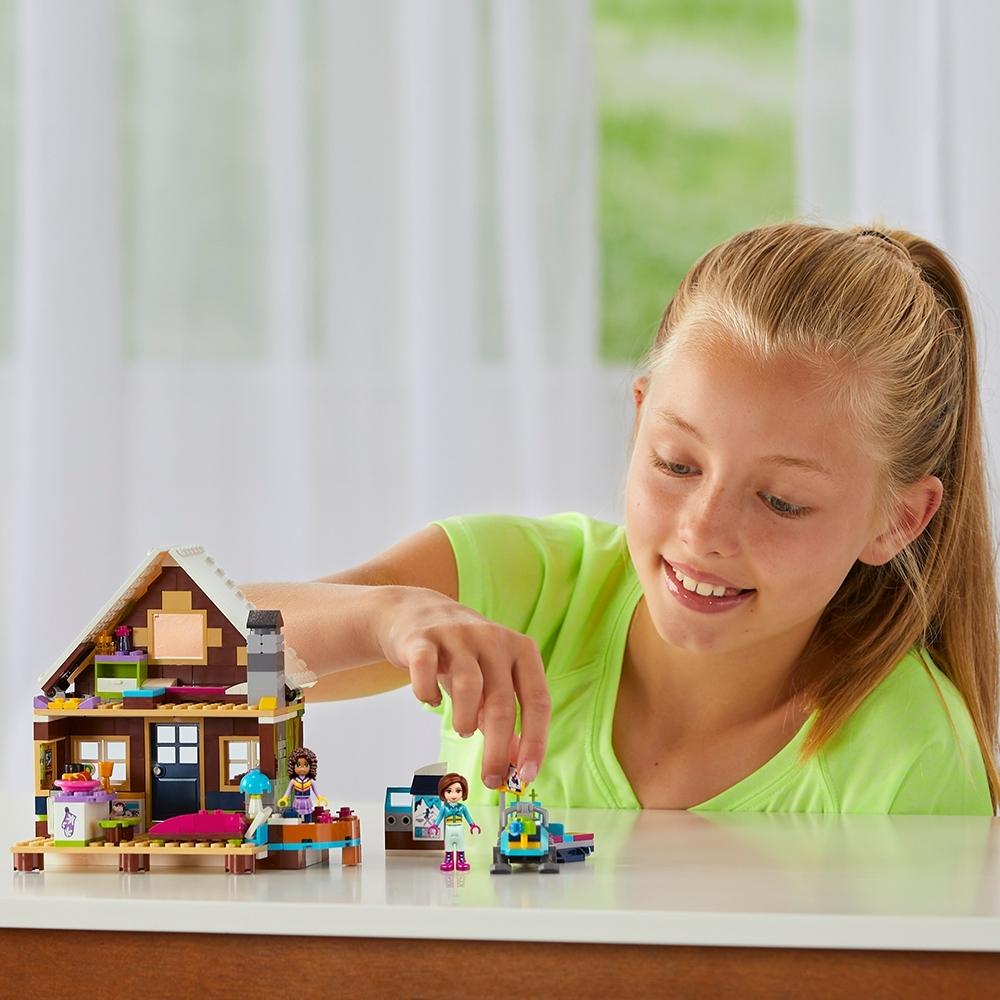 Miscelanea Lego Friends-41323 Friends: estación de esquí: Cabaña Multicolor 4