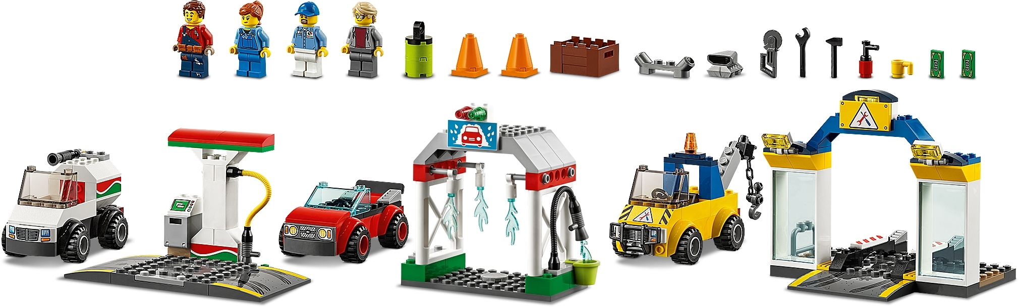 New Toy Garage Center 60232 Brick LEGO® City