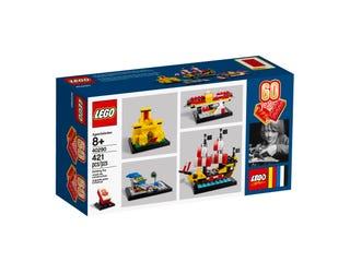 60e anniversaire de la brique LEGO®