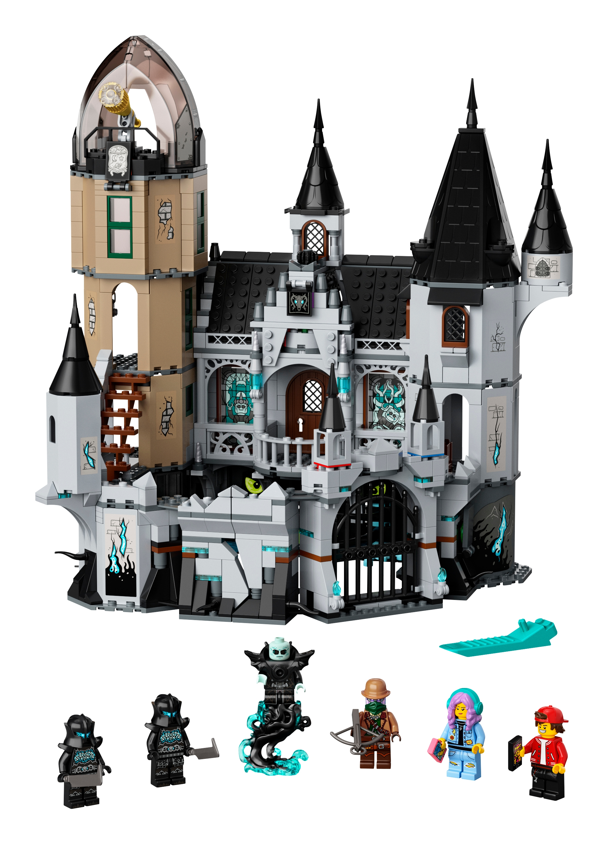Mystery Castle 70437 | Hidden Side | Buy online at the Official ...