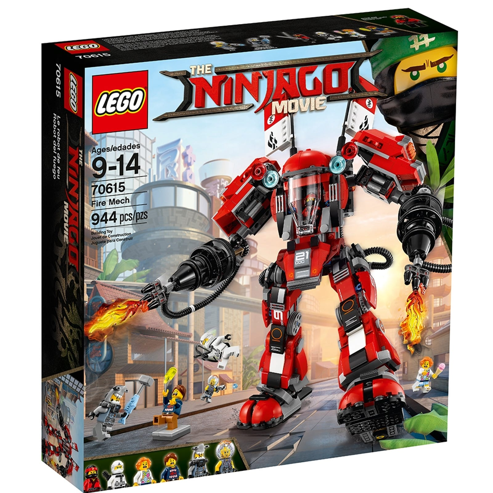 Fire Mech 70615 The Lego Ninjago Movie Buy Online At The Official Lego Shop Us