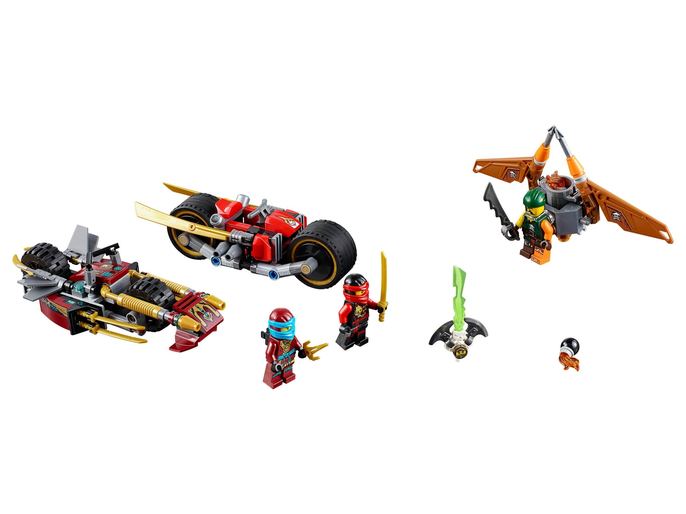 LEGO Ninjago Ninja Bike Chase 70600 NEW