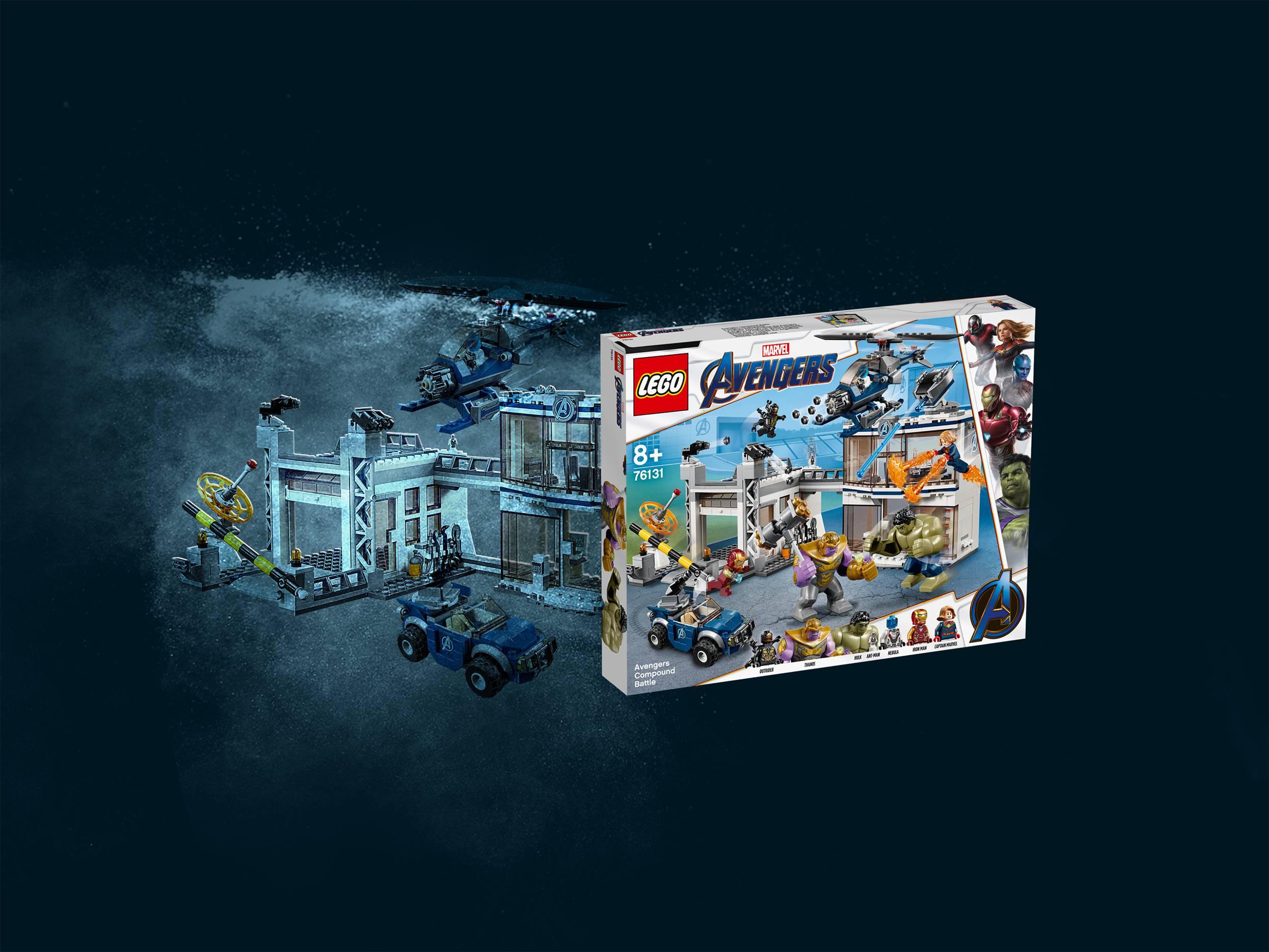 LEGO® Marvel Avengers: Endgame | Creative superhero building