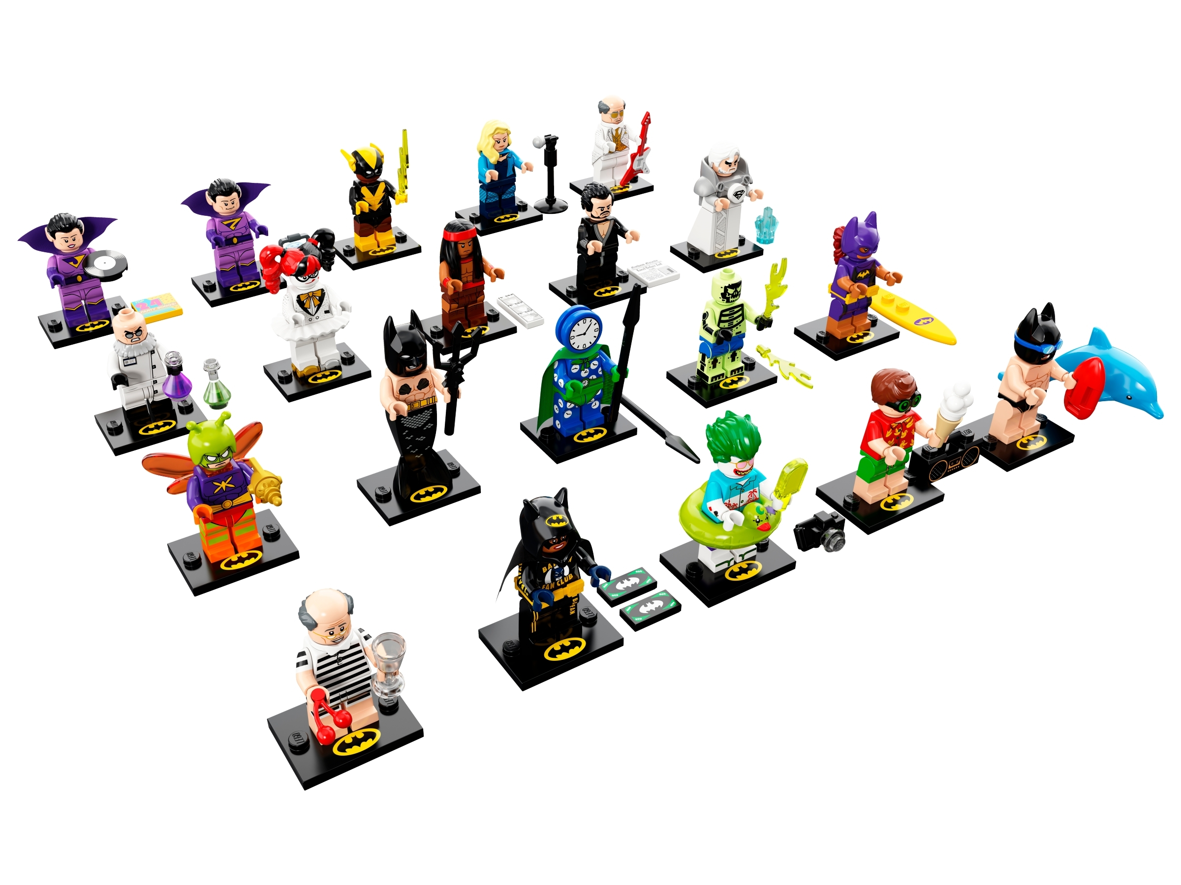 Black Vulcan NEW LEGO 71020 BATMAN MOVIE MINIFIGURES SERIES 2