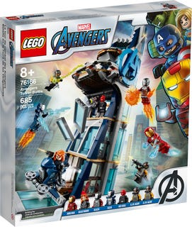 Avengers Tower Battle
