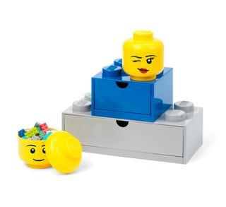 LEGO® Storage Head – Mini (Winking)