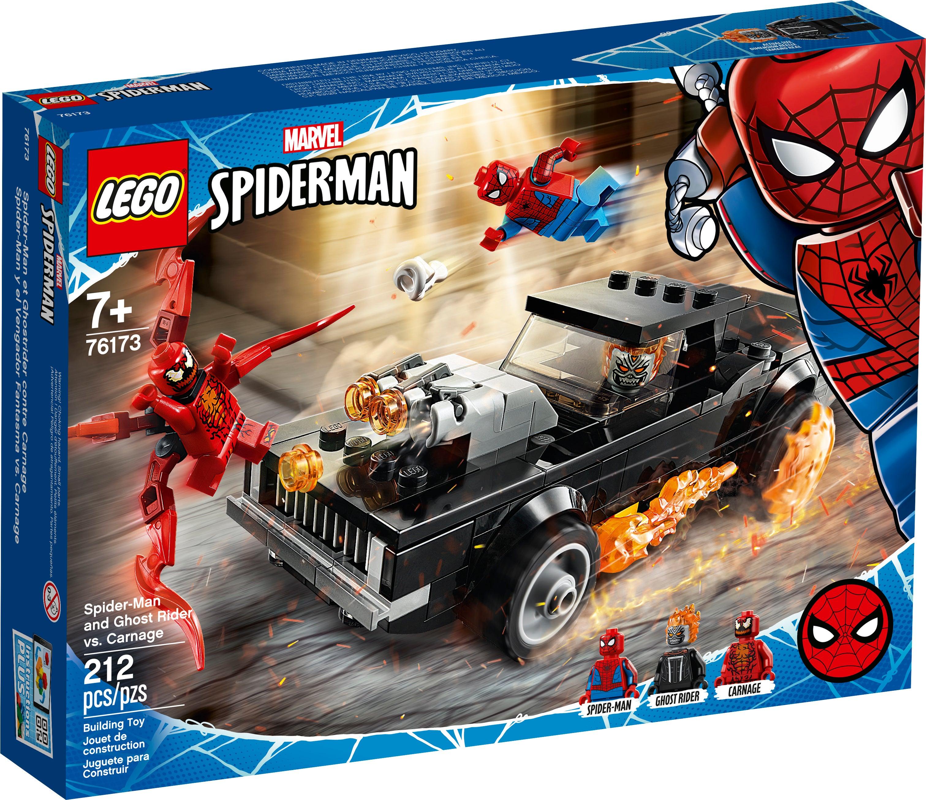 Carnage LEGO Marvel Super Heroes 76173 Spider-Man und Ghost Rider vs NEU OVP