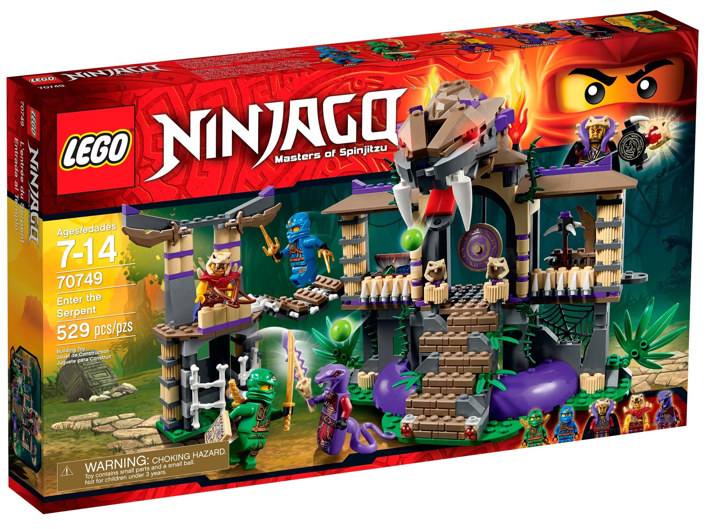 NINJAGO 70749 Set Braind New Ninjago Season 4