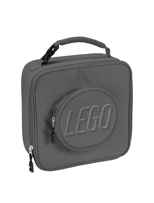 LEGO® Brick Lunch Bag Gray