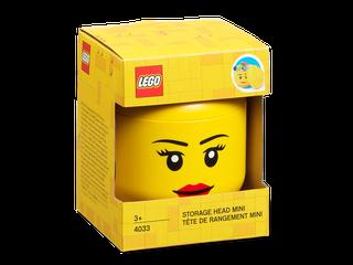 LEGO® Storage Head – Mini (Girl)