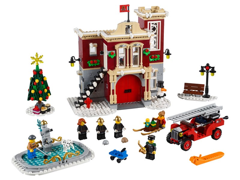 Winter Village Fire Station