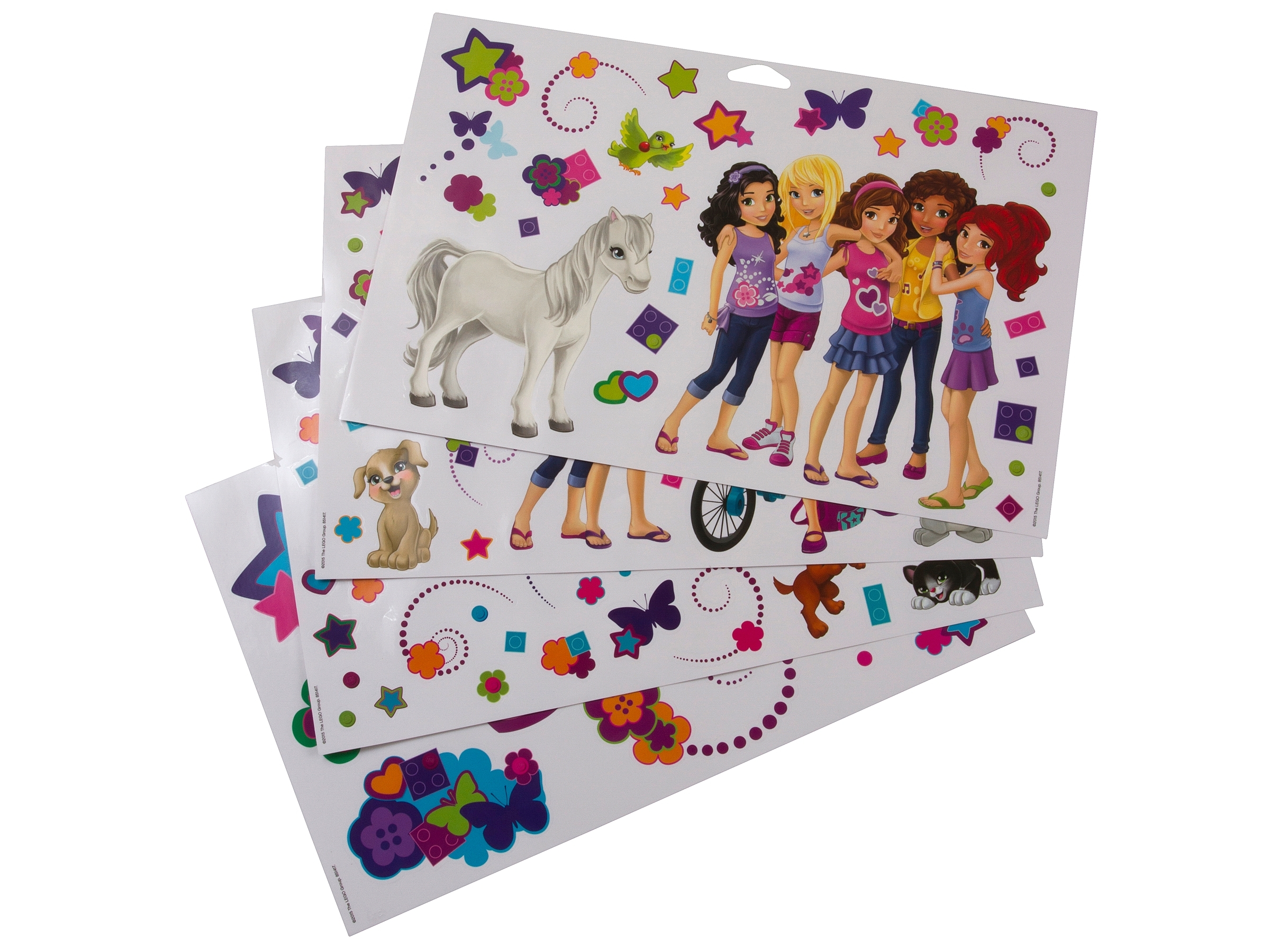 lego friends photo paper WALL STICKER WALL DECAL
