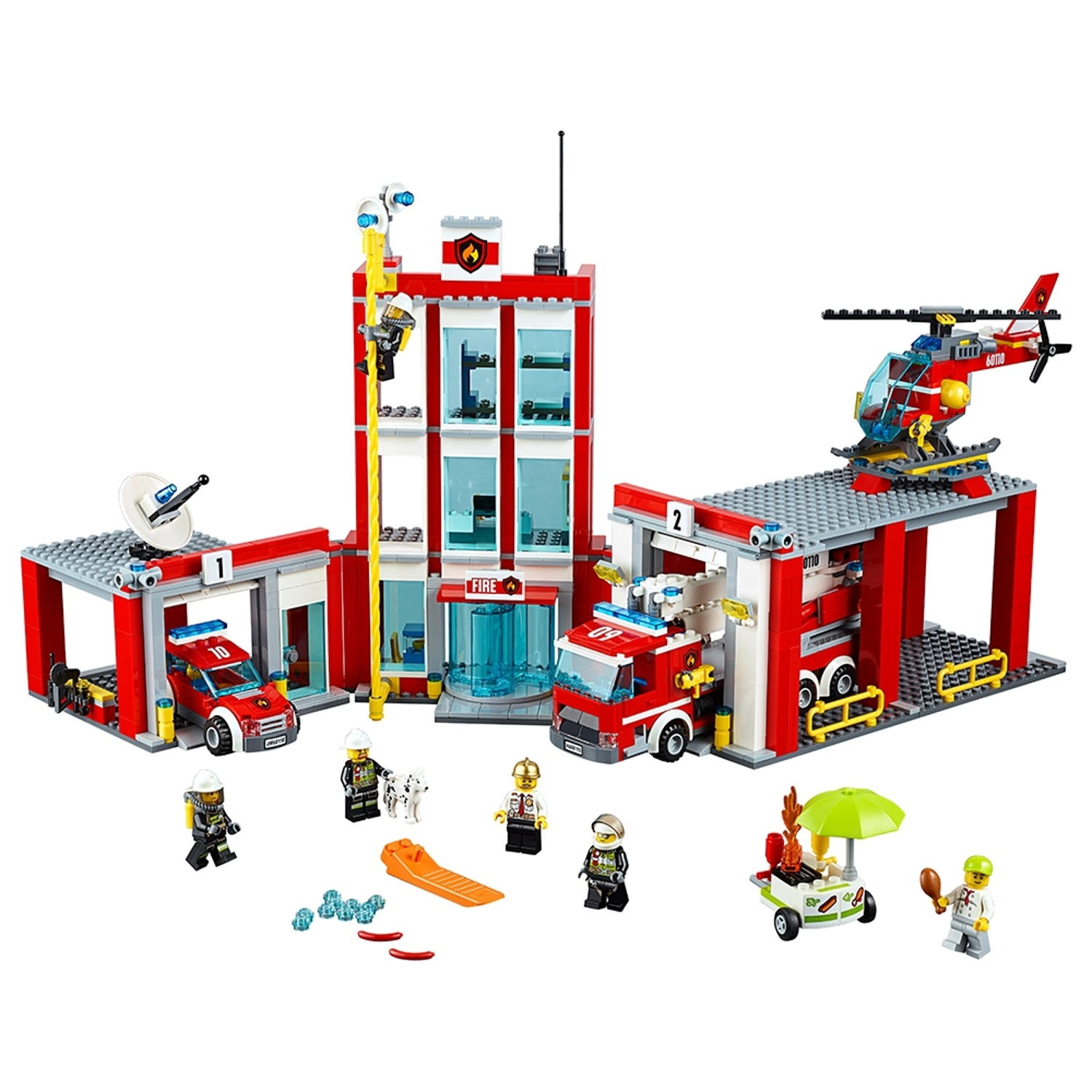 Fire Station 60110 City Buy Online At The Official Lego Shop Us
