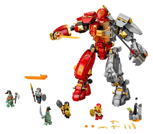 Fire Stone Mech 71720 Ninjago Buy Online At The Official Lego Shop Us