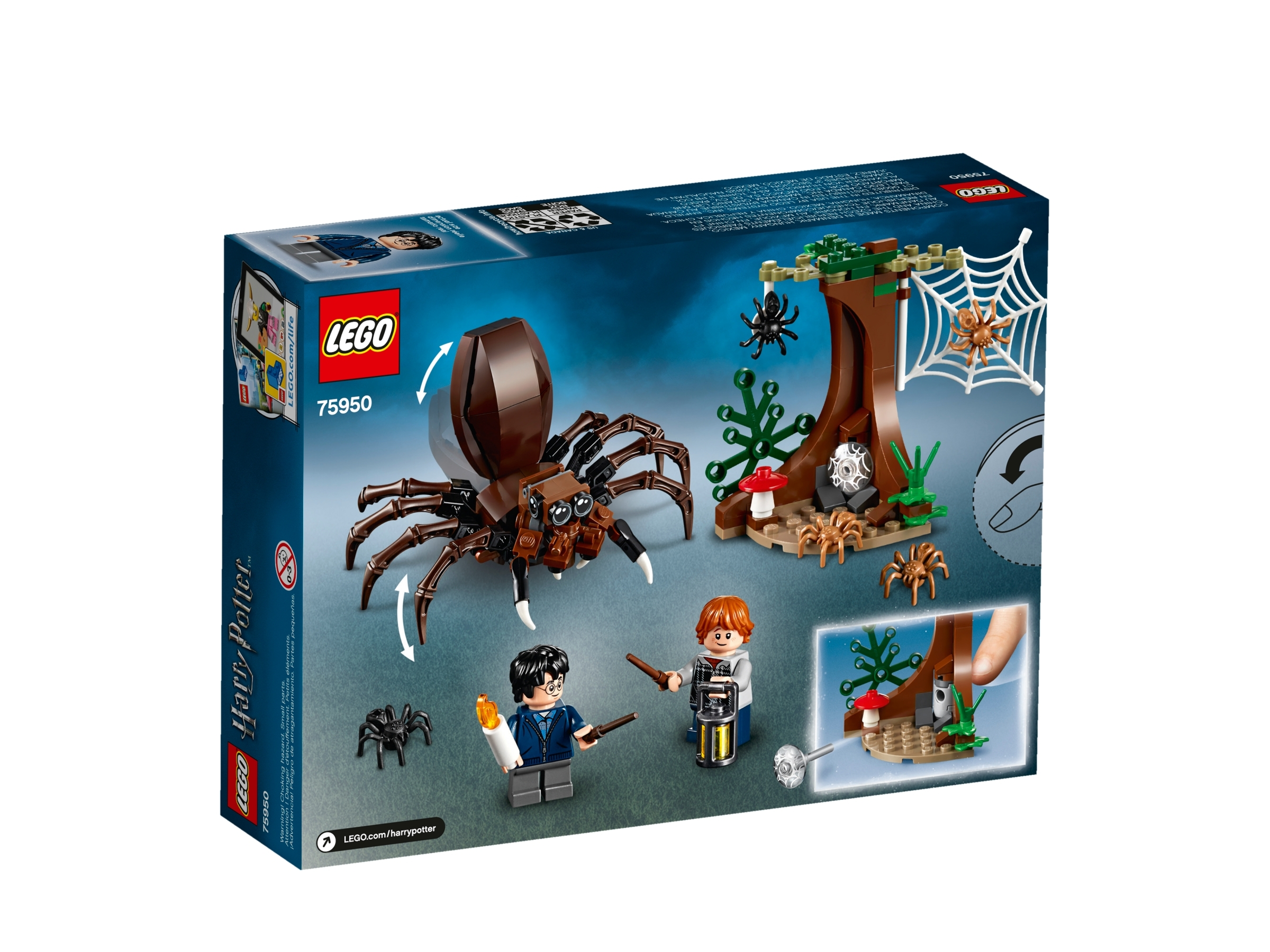 75950 Lego Harry Potter Aragog/'s Lair