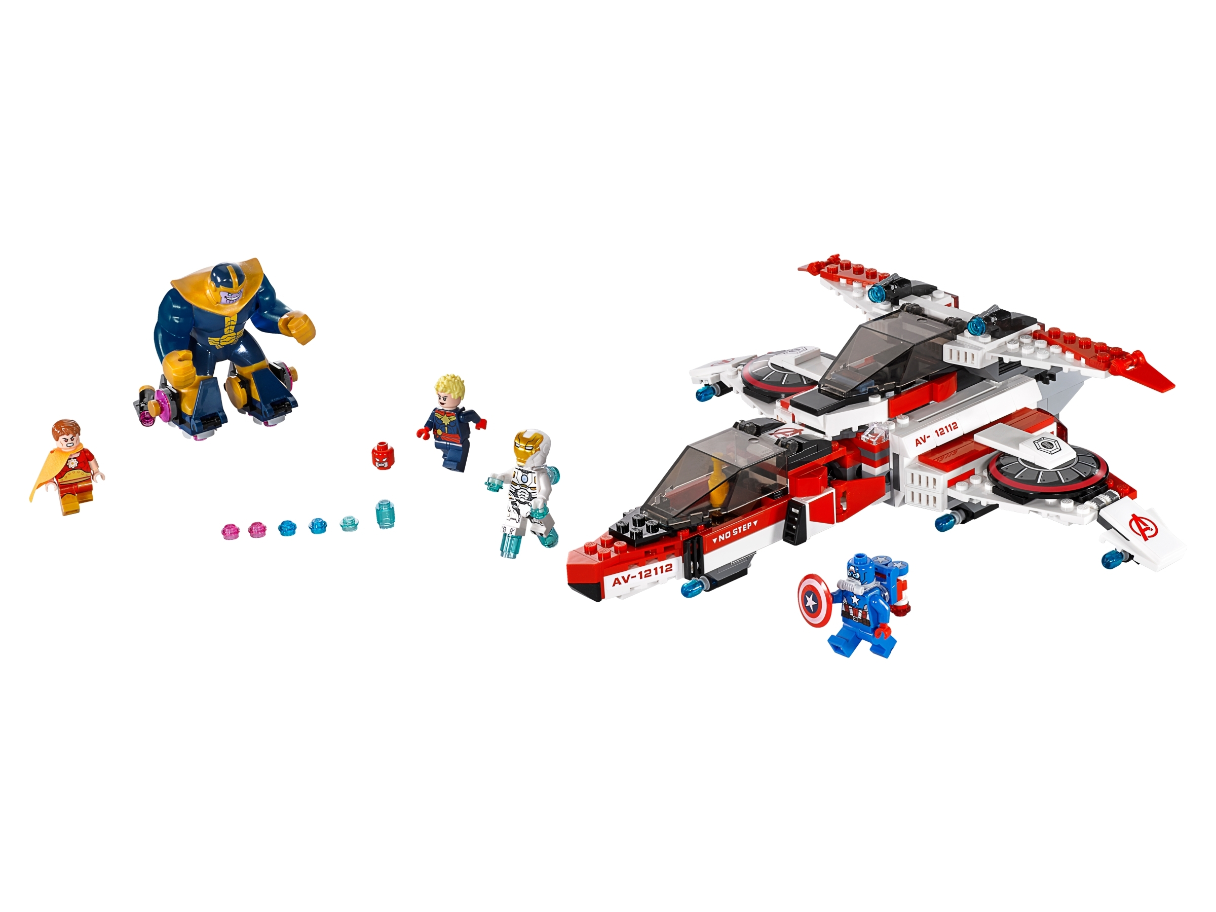 Space Captain America  Marvel LEGO Minifigures 76049