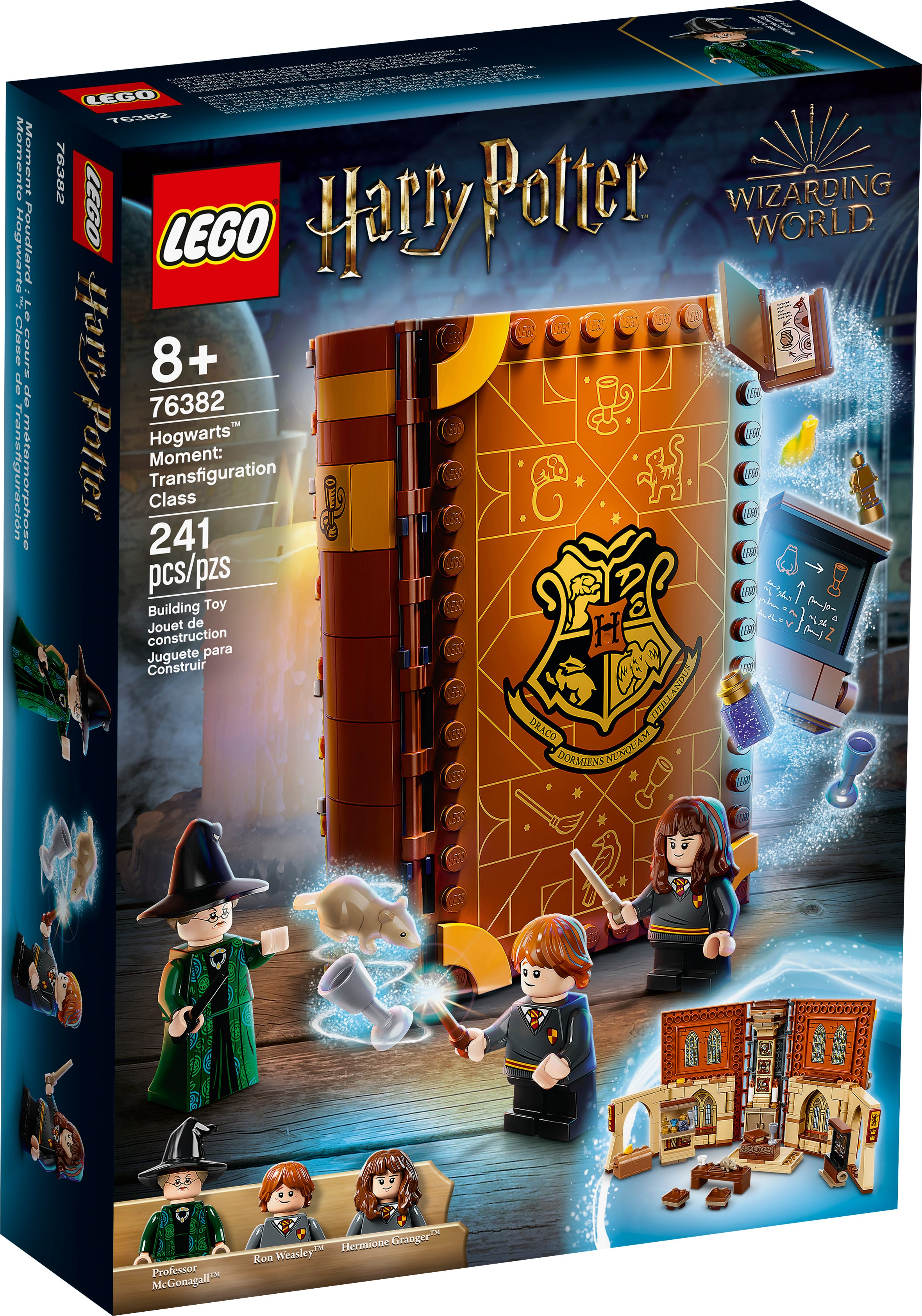 Lighting Kit Compatible with Lego 76382 Professor McGonagall Room T-Club Classic LED Light Kit for Lego Harry Potter Hogwarts Moment 76382 Not Include Lego Set 76382